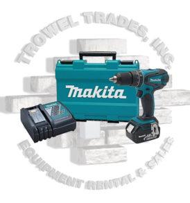 Makita XPH012 18Volt LXT Cordless 1/2 Inch Hammer Driver Drill Kit