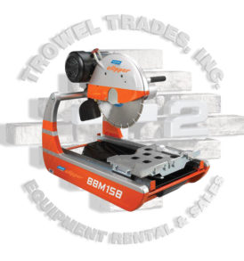 Norton Clipper BBM158 Mini Brick Saw