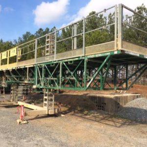 Used Hydro Mobile M2 Mast Climber Set Up