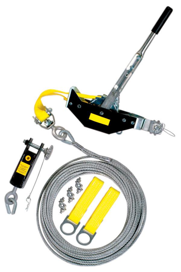 Cable Horizontal Lifeline System Trowel Trades Inc