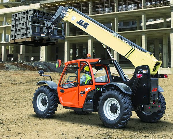 Automated Lift Safety On High Capacity Telehandlers Jlg