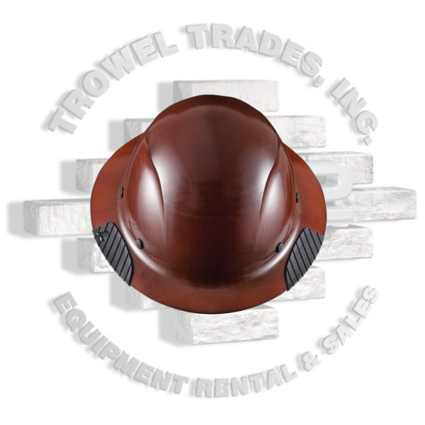 DAX Fiber Resin Full Brim Hard Hat 6 Point Suspension Lift Industrial Safety