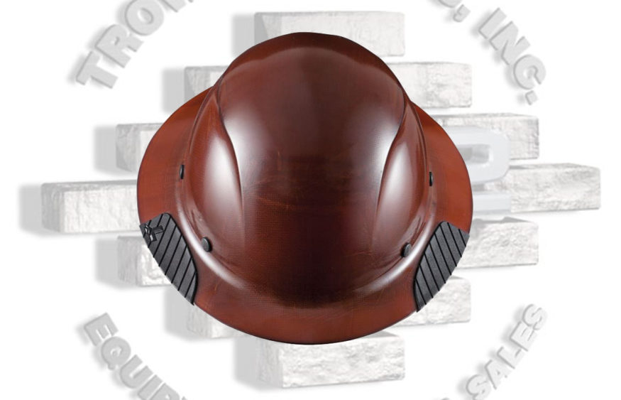 b913e371a3b DAX Fiber Resin Full Brim Hard Hat 6 Point Suspension Lift Industrial Safety