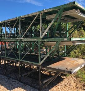 Hydro Mobile Bearing Bridge 18 Foot Wing Bridge Assembly