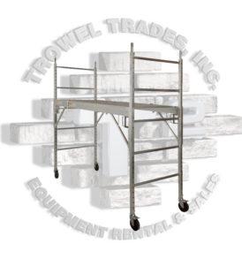 Trowel Trades Aluminum Scaffold Complete All Aluminum Set SMPT-A